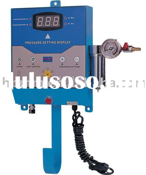 HJ-701B full automatic tire inflator, tyre inflator,high pressure for truck(for air)