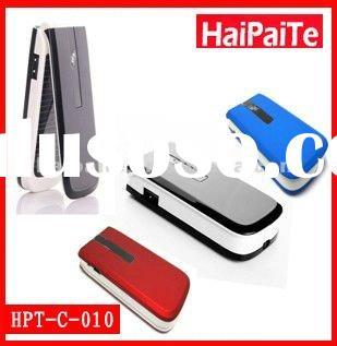 Haipaite 1000mah emergency solar battery charger for mobile phone with CE certificaton