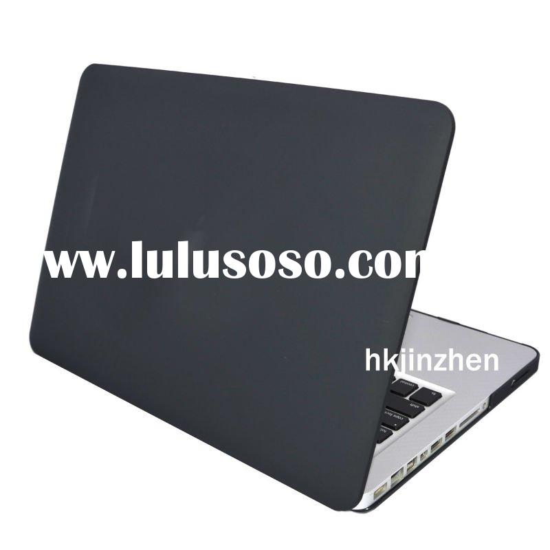 High quality laptop skins Rubberized BLACK Hard Case Cover for new Macbook PRO
