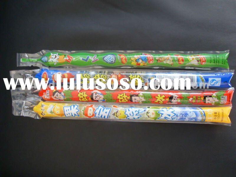 High speed freeze pops tube filling sealing packing machine