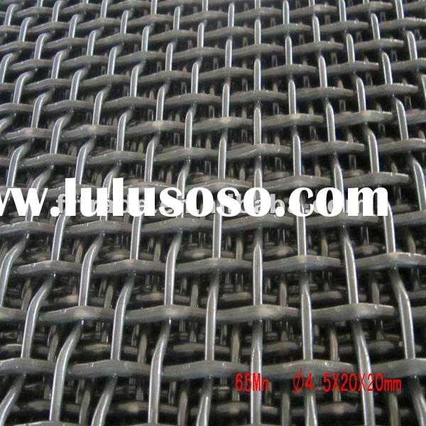 Hot Dipped Galvanized Crimped Wire Mesh for Fence