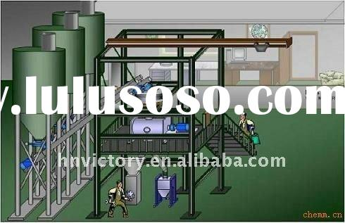 Hot sale 2012 dry powder mortar production line
