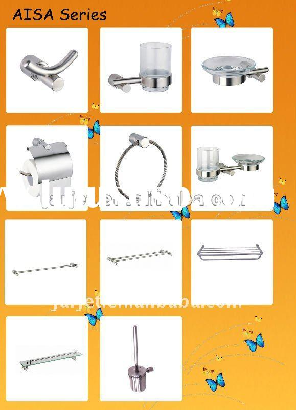 Hotel bathroom accessories stainless steel AISA