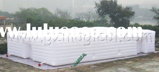 Inflatable event/exhibition/advertising tent