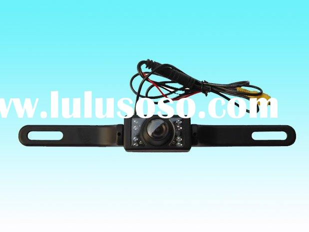 License plate frame camera ,car reverse camera with IR night vision-CAM-103