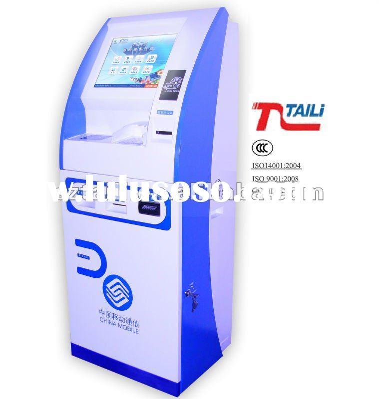 Lobby Payment self service kiosk payment machine TLST-1009