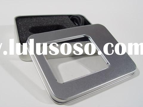 Logo Tin Gift Box for Corporate Gift USB Flash Drive, USB Pen, USB Flash Disk, and Memory Stick