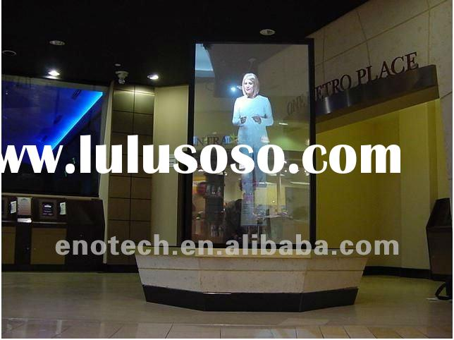 Low price of self adhesive rear projection screen for meeting, glasses, event, shopping mall, advert
