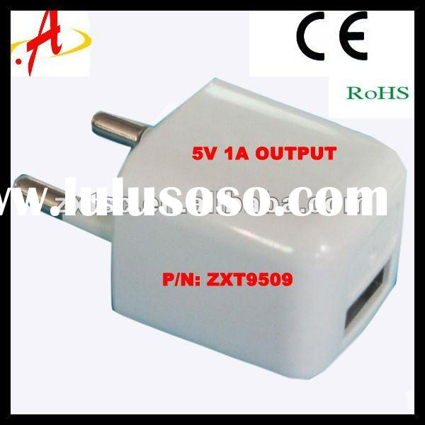 Mini USB Charger 5V 0---1000mA for phones