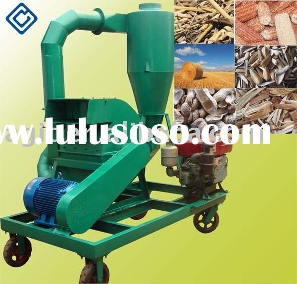 Mobile Hammer Mill(with diesel engine and electric motor for dual-purpose)