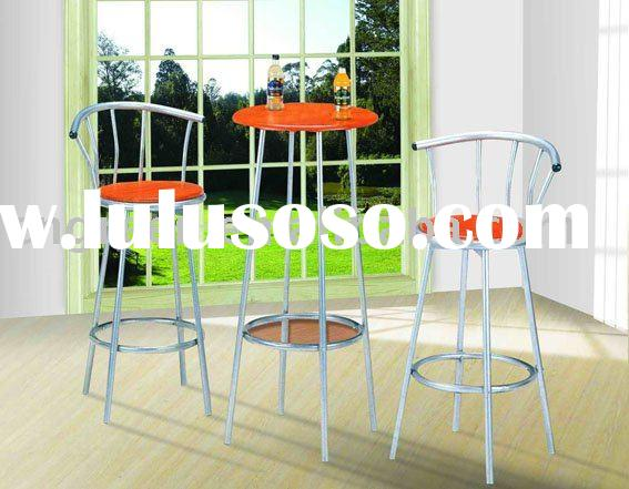 Modern Bar Table and chair set (G-LS049)