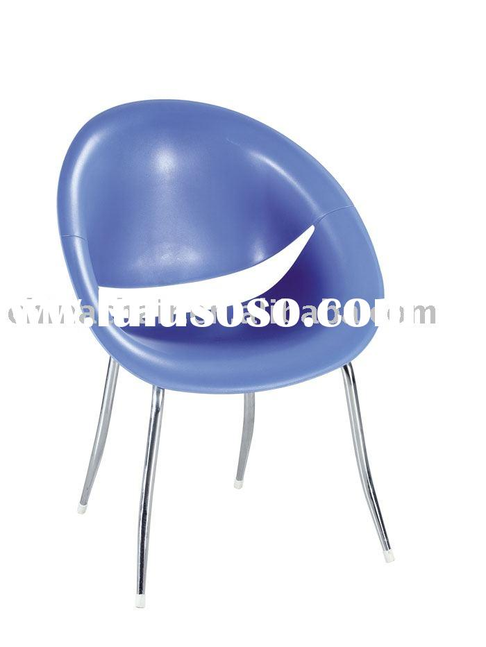 Modern design plastic shell cafe bar table chair, outdoor bar chair