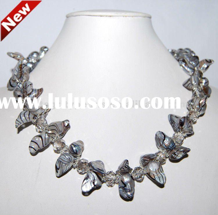 New design pearl necklace costume jewelry