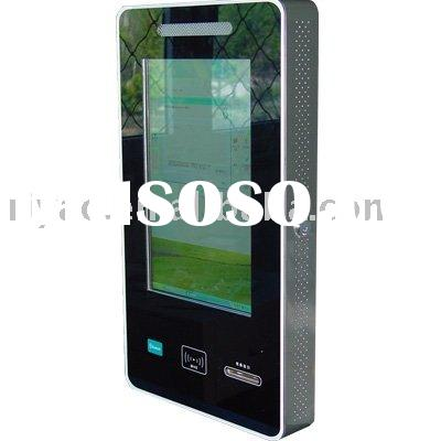 New-design wall-mounted self-service payment kiosk with blue tooth and card reader and printer