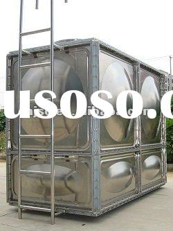 New designed stainless steel storage water tank ISO9001/ISO14001