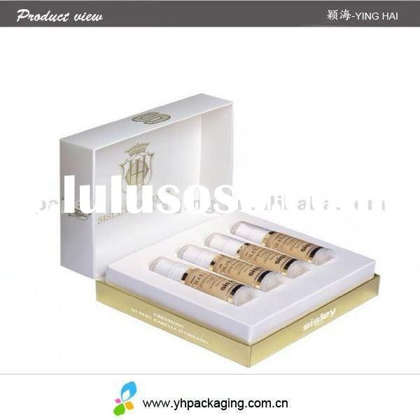 ODM cosmetic packaging box for sale and perfume packaging(YINGHAI)