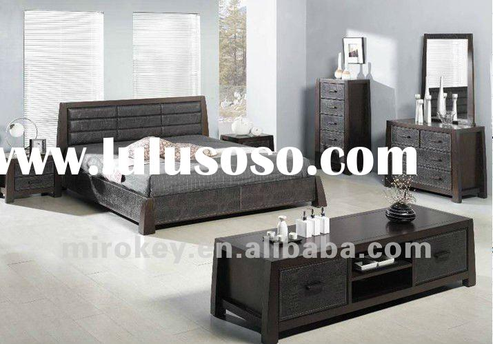 Oak and MDF Modern Bedroom Furniture Set (872)