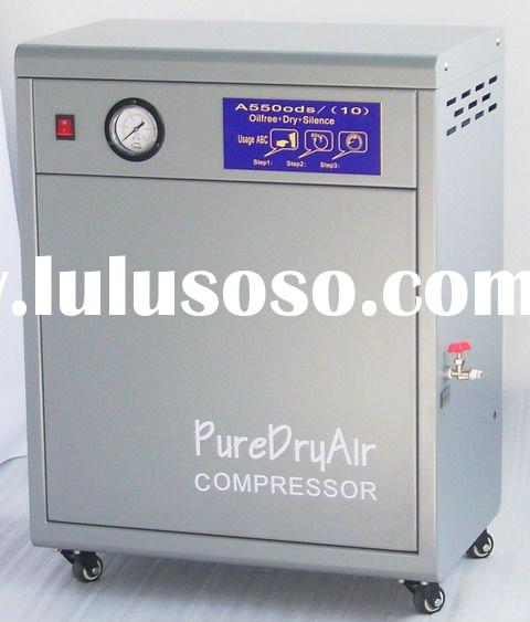 Oil free portable dental air compressor
