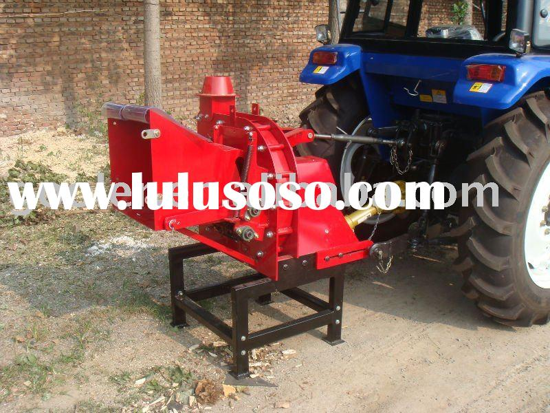 PTO Wood shredder machine WC-8, cutting wood machine