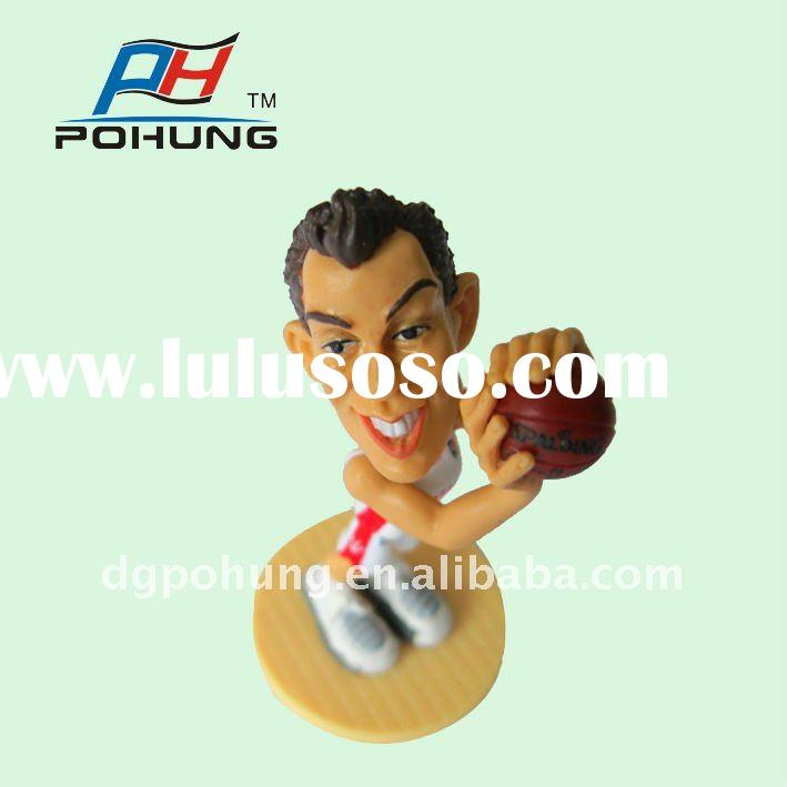 PVC Action Figure Maker Basketball Star 3D Action figurine collectible toy PH060