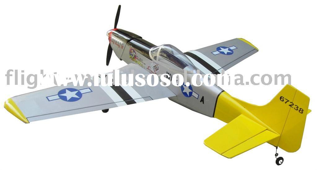 P-51 mustang-46 F007 r/c airplane model