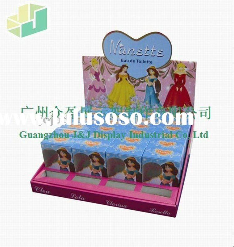 Perfume Counter corrugated cardboard display stand