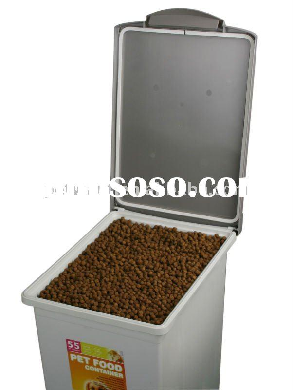 Plastic Pet Food Container plastic food container food grade plastic container