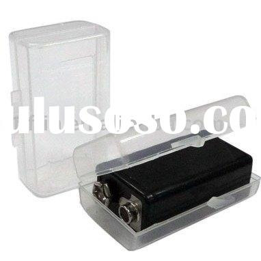 Plastic Storage Holder Case Box for 9V Battery
