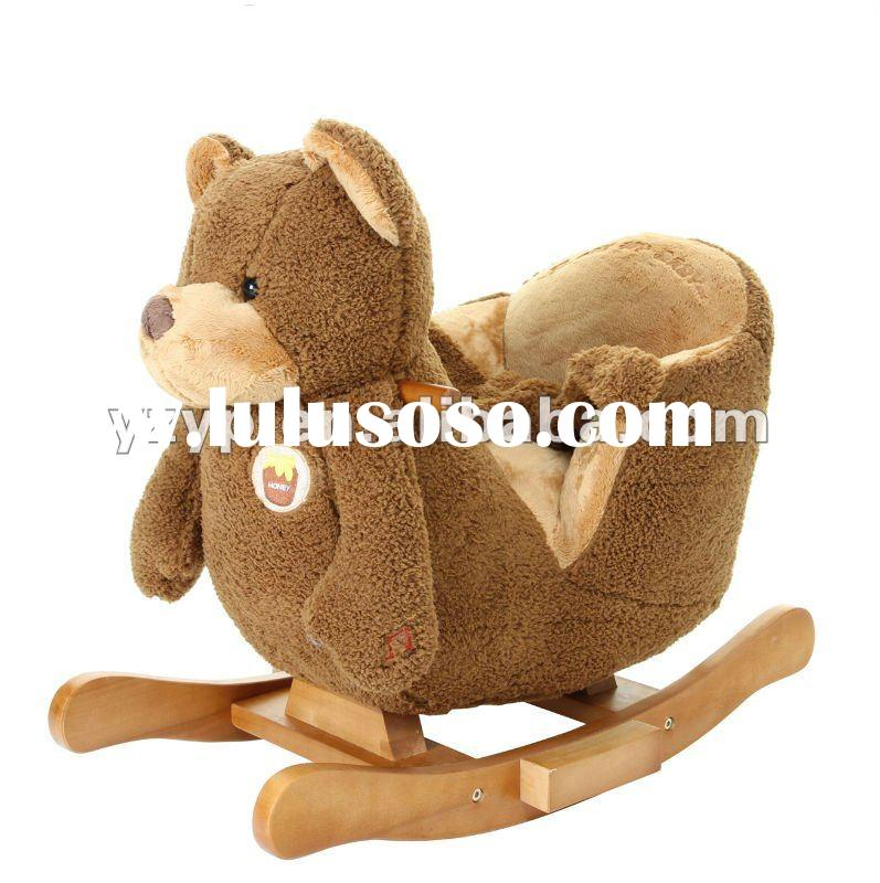 bear rocking chair
