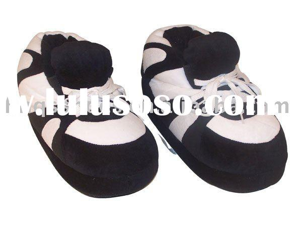 Plush sport slipper Tiger Claw slipper basketball slipper