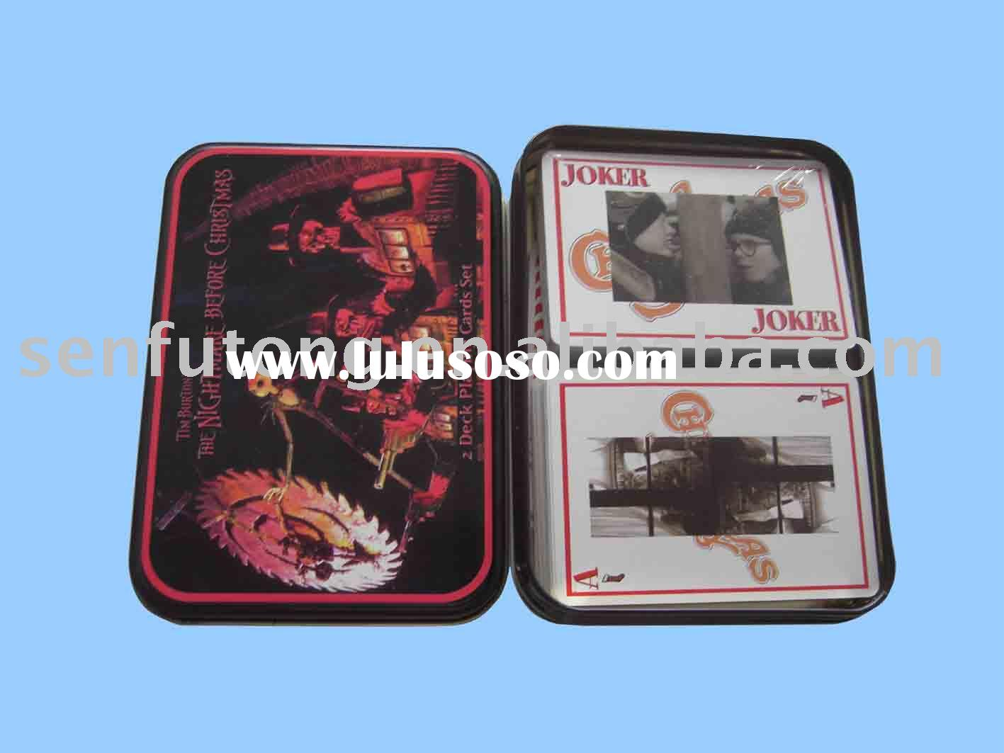 Poker set;gambling cards;playing cards set;gambling sets