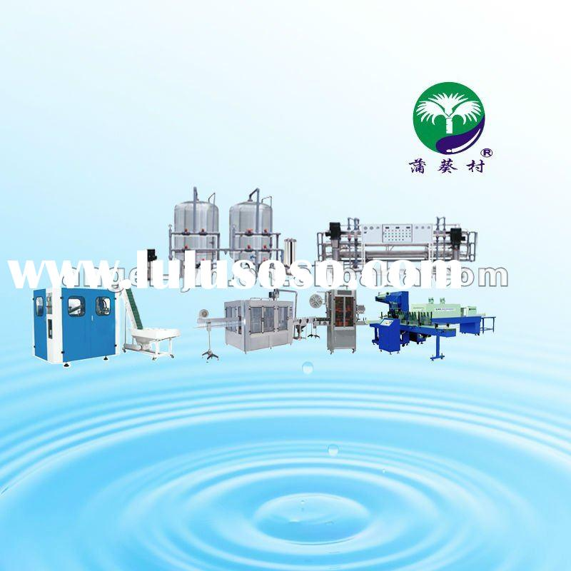 Pure water/Mineral water/Drinking water filling production line