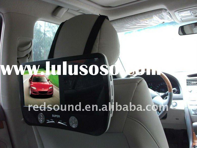RD-P2010 car headrest mount portable dvd player with usb sd TV TUNER