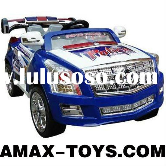 RR-229010 ride on car Children multifunctional remote control ride on police car with double motors