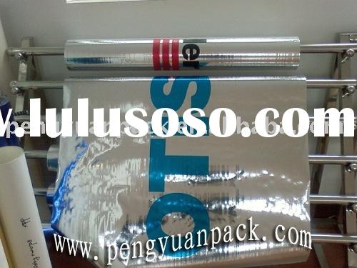 Reflective barrier,reflective insulation,woven fabric laminated Aluminium foil