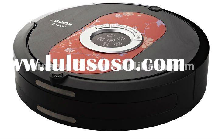 Robotic Intelligent Vacuum Cleaner with UV/oz Sterilization, LED Screen, Virtual Wall, CE Certified