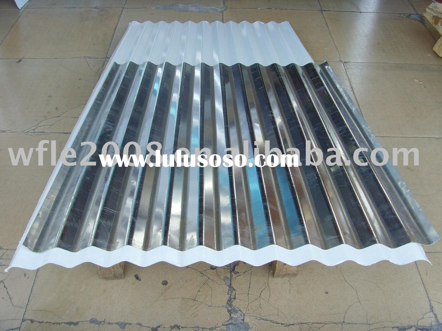 Roof tile:aluminum/galvanized(zinc coating)/steel/glazed/FRP roof tile