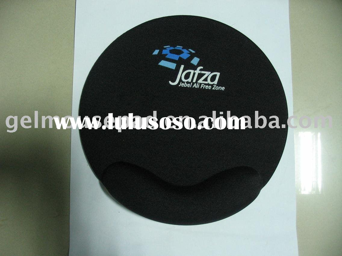 Round shaped gel mousepad/ gel wrist rest /gel mouse pad