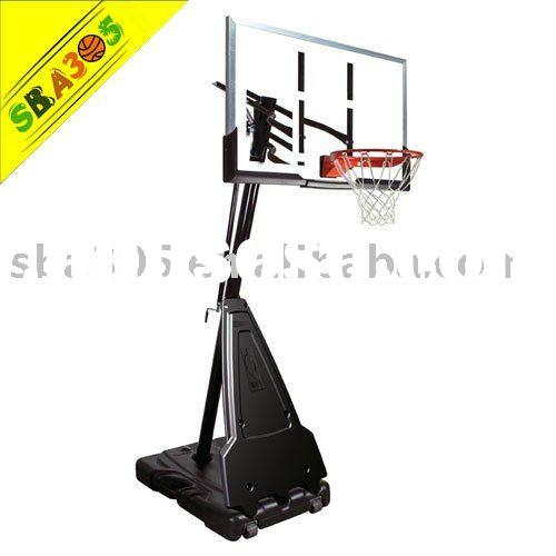 SBA68564 Portable Basketball Hoop with 54 Inch Acrylic Backboard