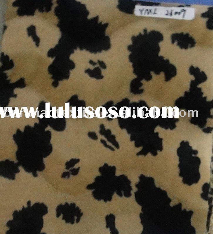 SEAT COVER FABRIC FOR VELOUR FABRIC FOR TIGER DESIGN