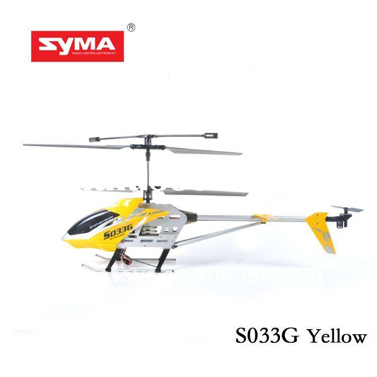 SYMA S033G wireless metal helicopter and aircraft for sale