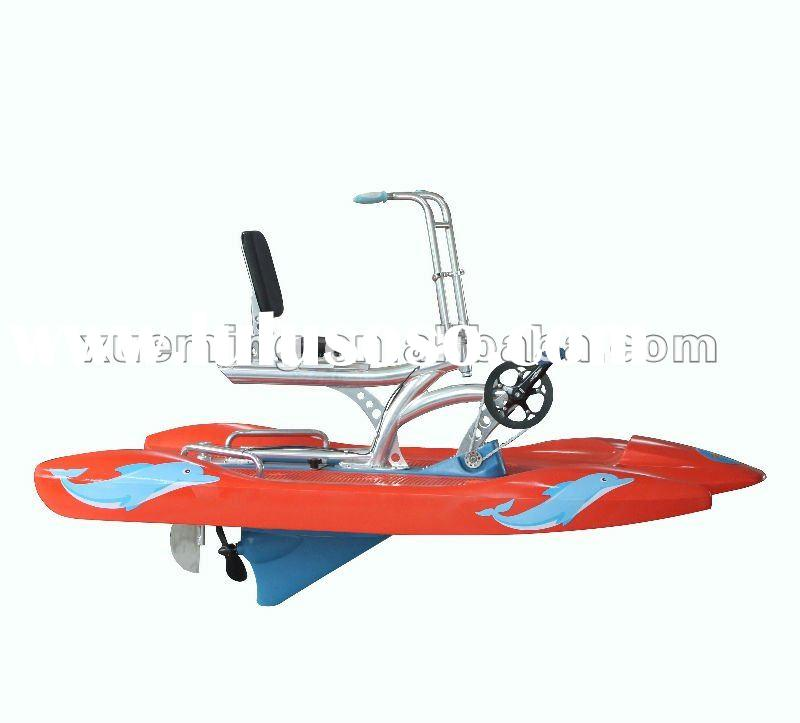 Shallow water boats/water pedal bike