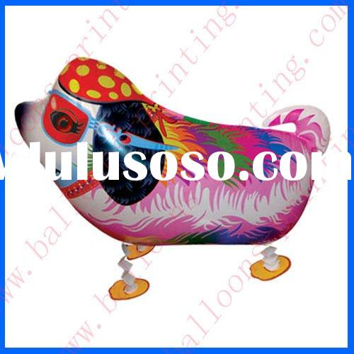 Shape Walking Colourful Dog Animal Mylar Balloon(59cm*43cm)(self sealing balloon, requires air or he
