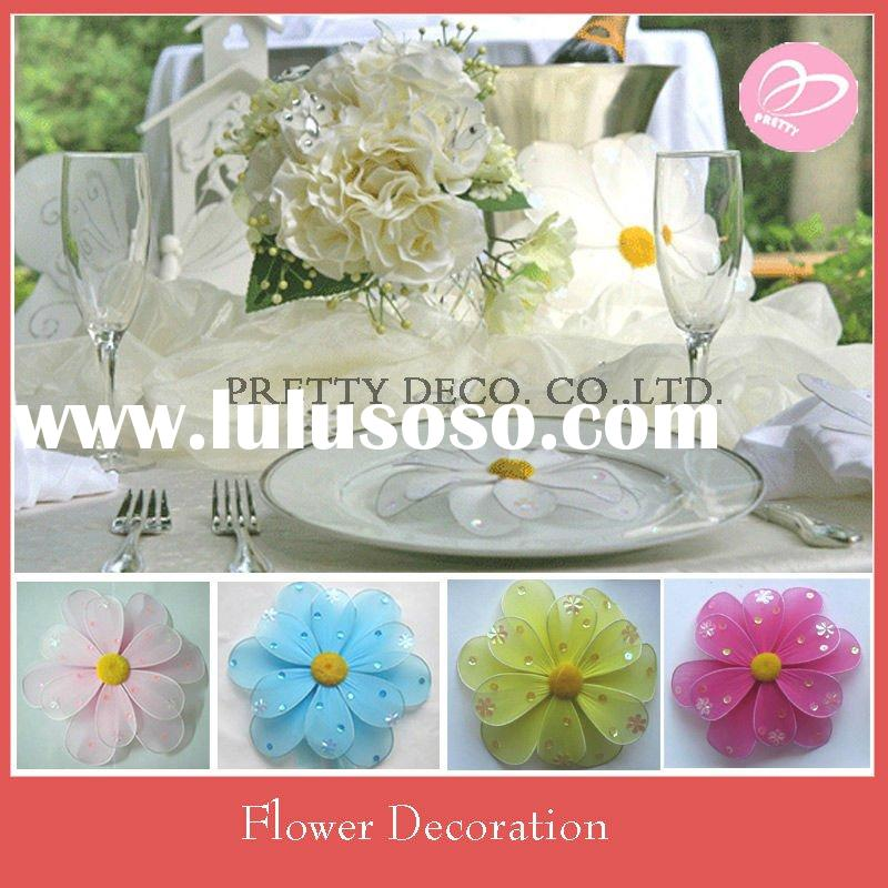 Silk flower for wedding decoration
