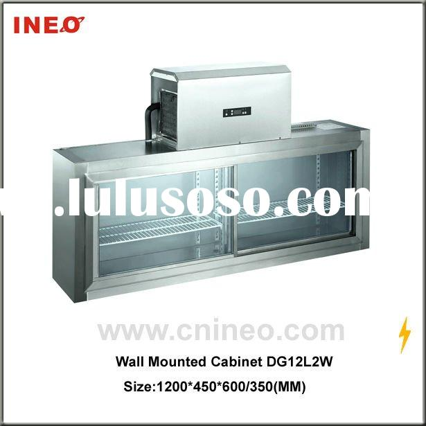 Stainless Steel Wall Mounted Refrigerator &Freezer for Kitchen Refrigerant Equipment
