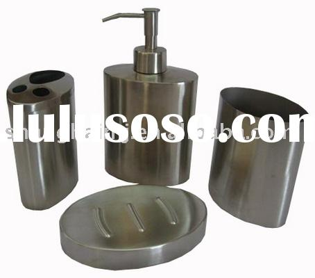 Stainless steel bathroom set, bathroom product, bathroom accessories