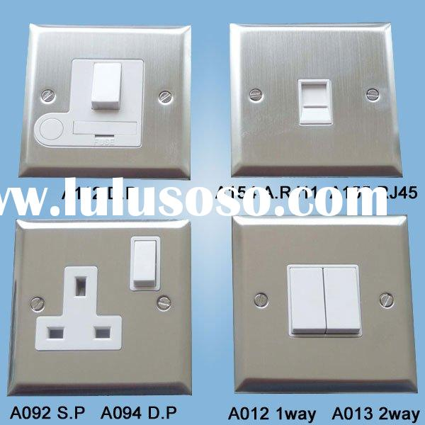 Stainless steel light Wall Switch