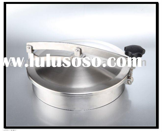 Stainless steel tank manway/tank cover/manway cover/sanitary manhole cover