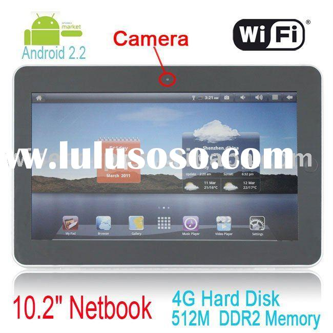 "Super Pad Flytouch 3 Android 2.2 512MB RAM 4GB/8GB/16GB Nand Flash 10.2"" Tablet PC GPS HDMI Epa"