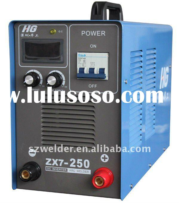 THREE PHASE DURABLE dc inverter mma welding machine circuit(MMA 250)